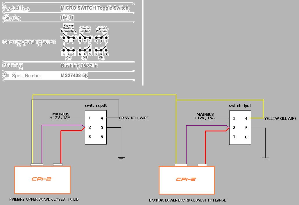 [SCHEMATICS_4US]  Couple SDS CPI2 install questions - Page 2 - VAF Forums | Sds Wiring Diagram |  | Vans Air Force